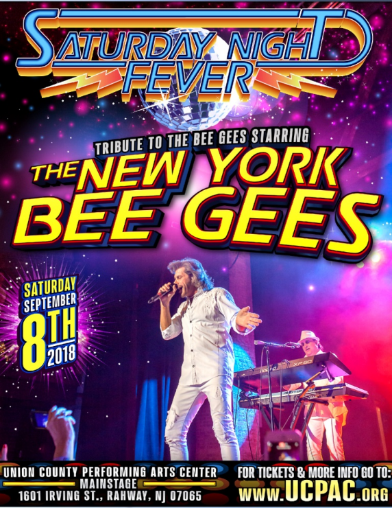SATURDAY NIGHT FEVER FEATURING THE NEW YORK BEE GEES