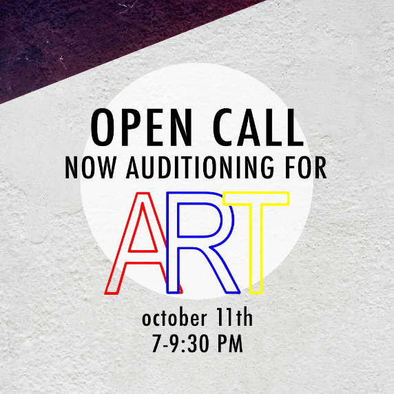 """nj arts maven: OPEN CALL AUDITIONS FOR """"ART"""" IN HOLMDEL ON"""